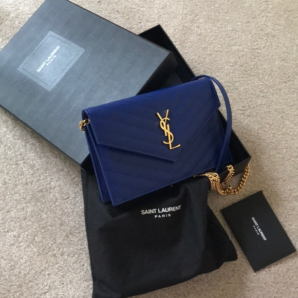 Brand new with box YSL matelasse chain bag. Boutique. Yves Saint Laurent 31d19b88bcfbf